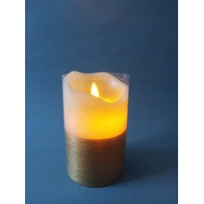 蠟燭-LED緞金蠟燭(中)